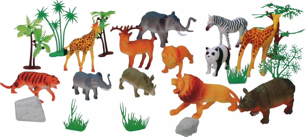 Eddy Toys Safaridierenset 22-delig kopen
