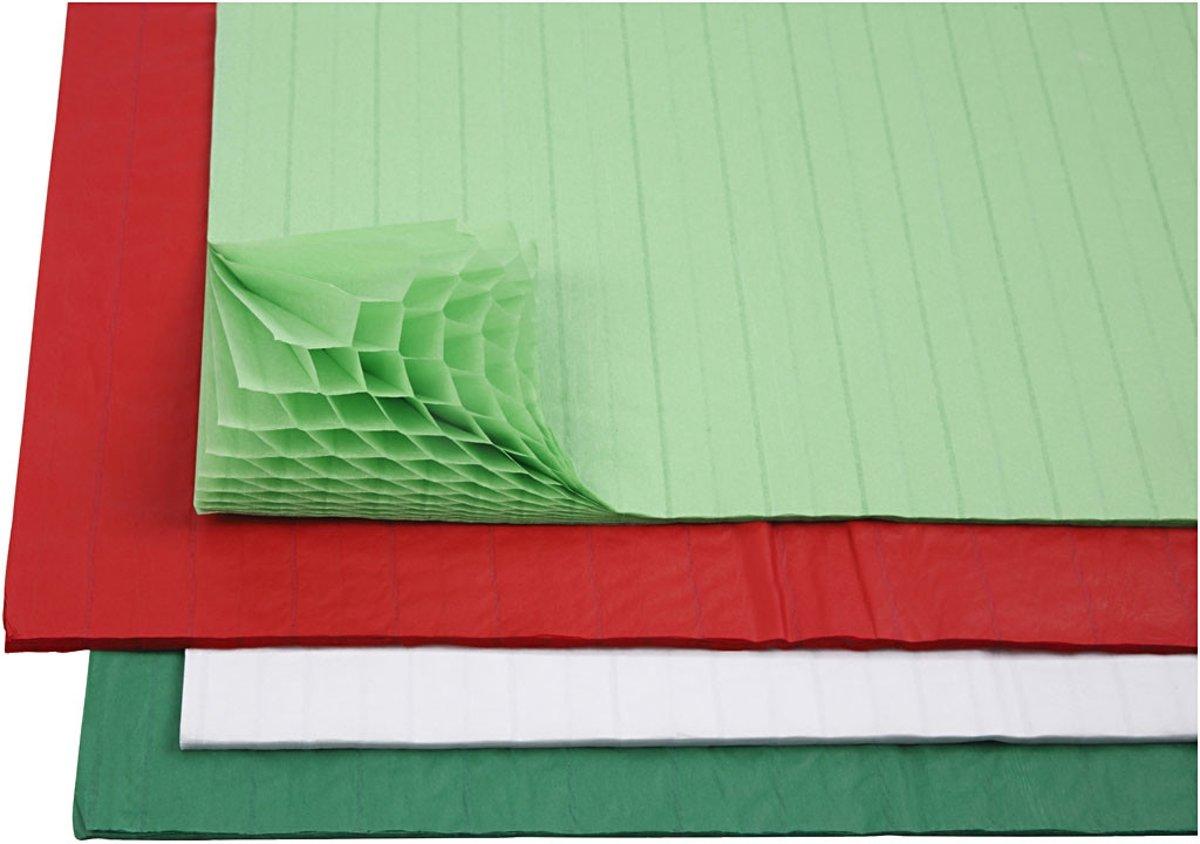 Harmonica papier, vel 28x17,8 cm, diverse kleuren, 8div vellen [HOB-204950] kopen