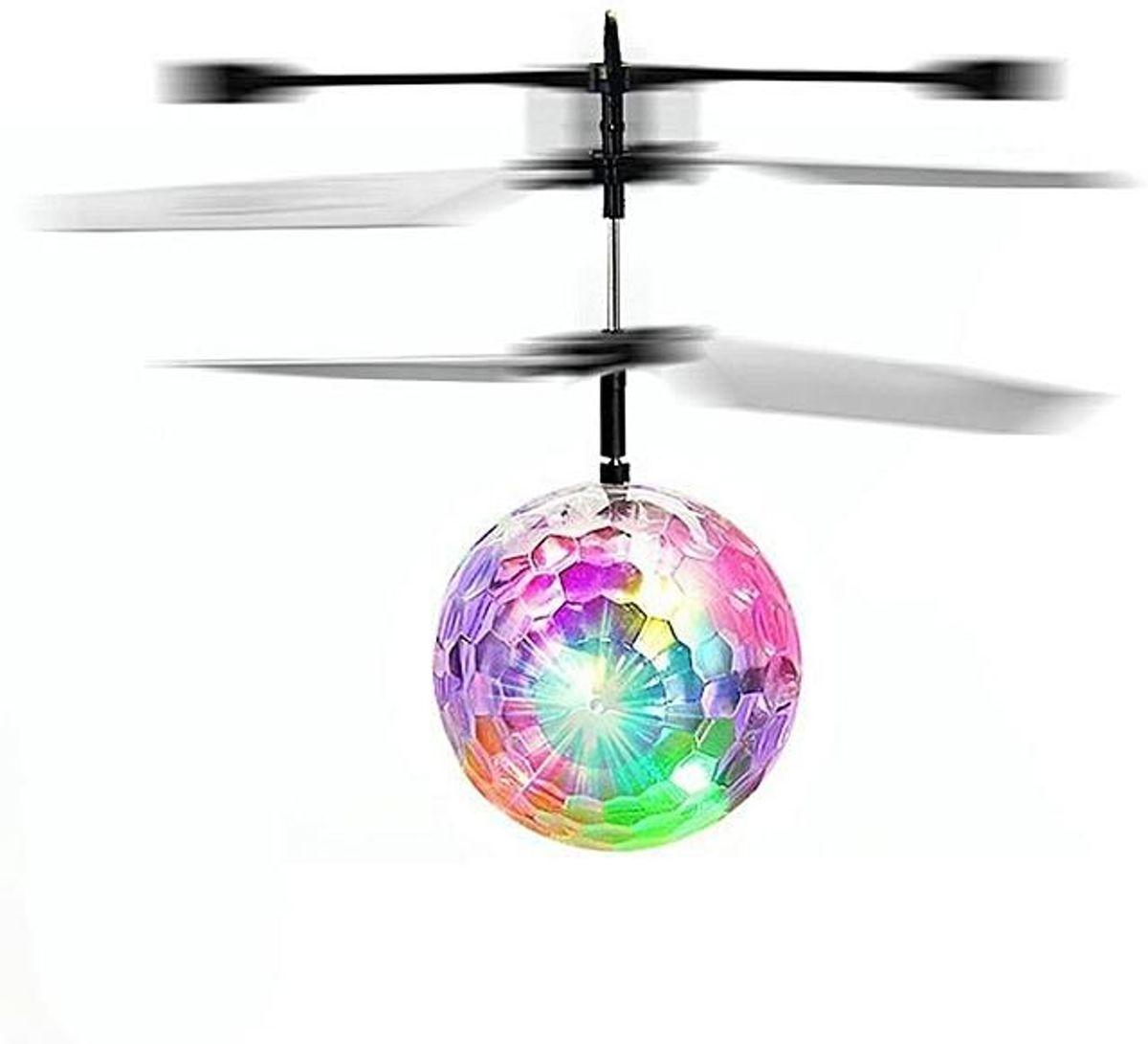 Flying Ball - licht bal bestuurd via de hand. GRATIS VERZENDING