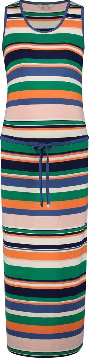 Noppies Jurk Prisca - Multicolor Stripe - Maat XL kopen