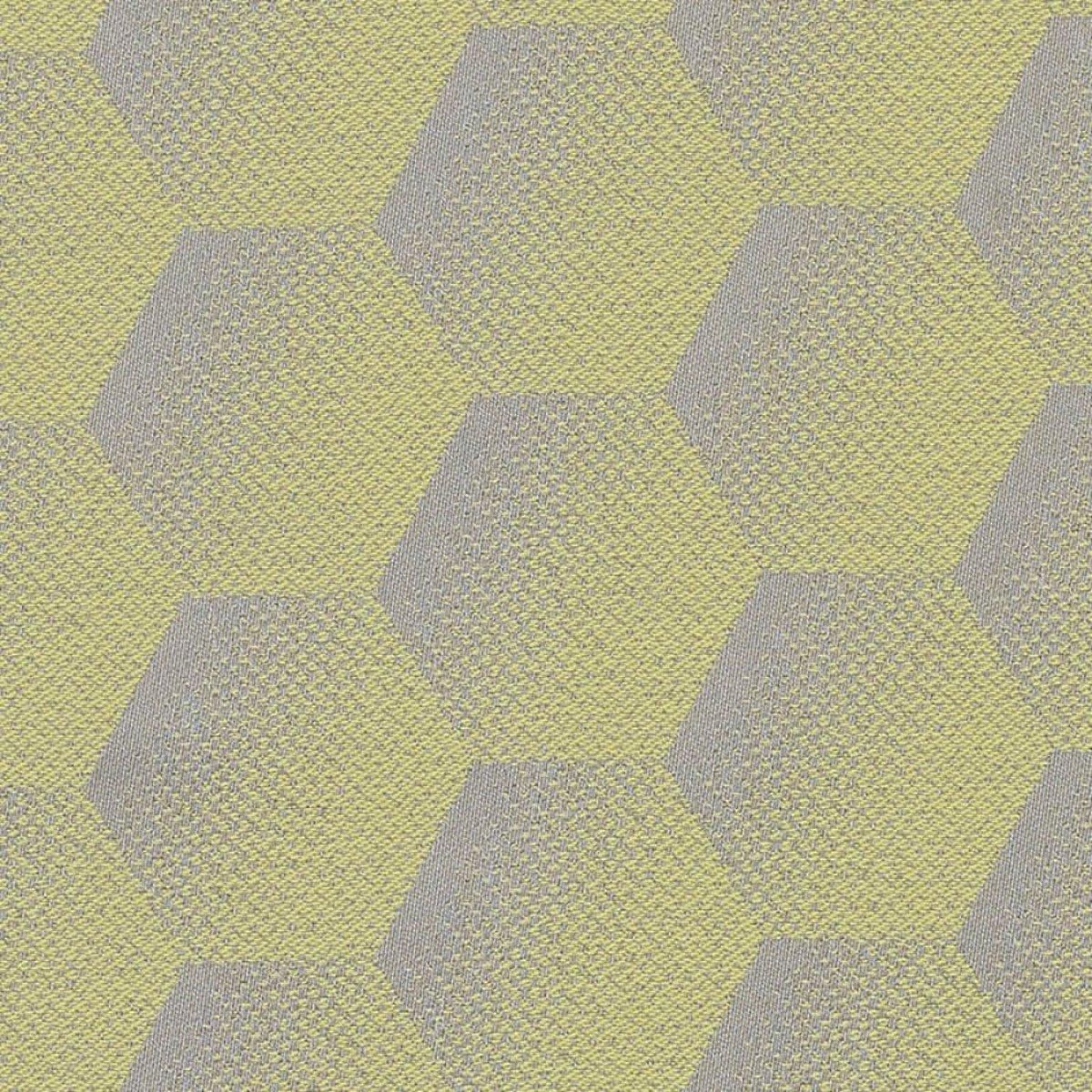 SUNBRELLA hexagon lemon jacquard stof kopen