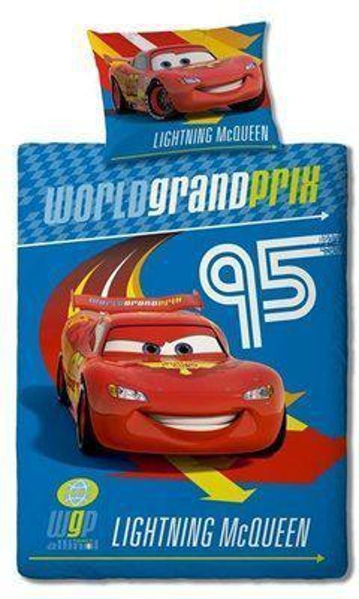Disney Cars - Dekbedovertrek - Eenpersoons - 140x200 cm - Blauw kopen