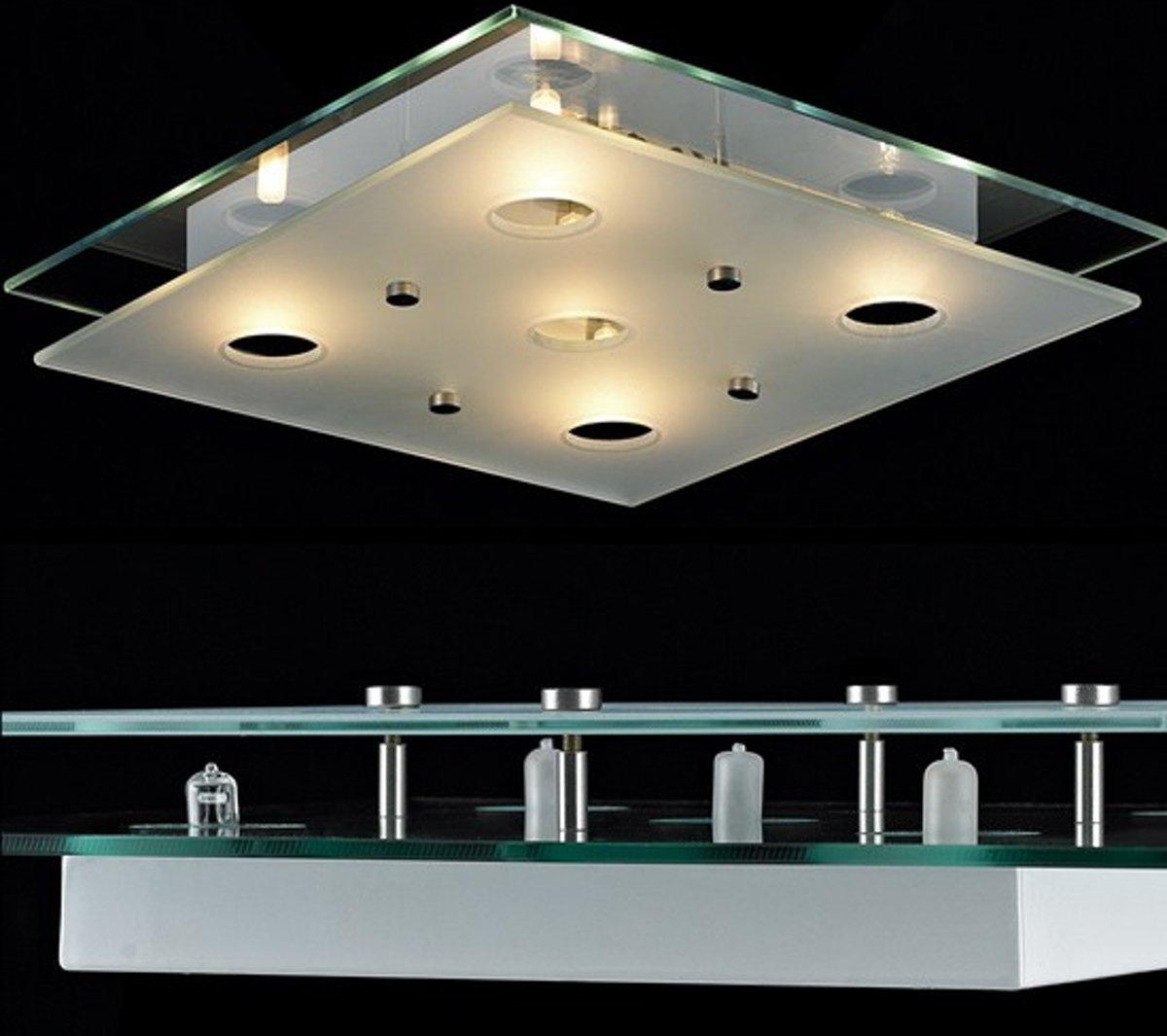 Fraaie Badkamerlamp van glas - Dimbaar kopen