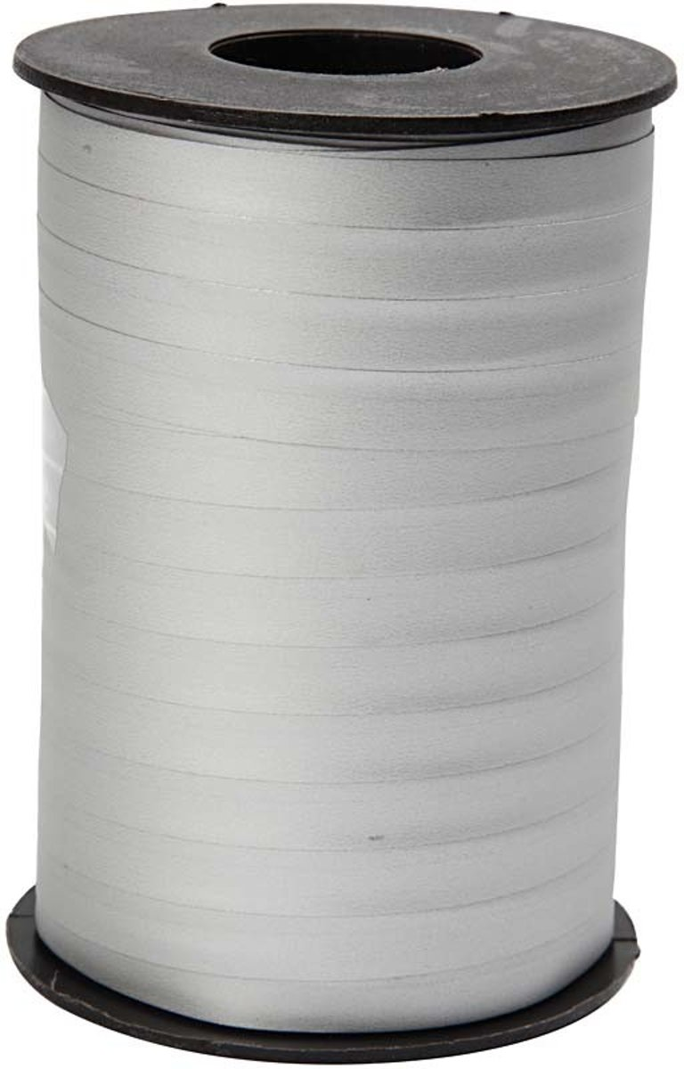 Cadeaulint, b: 10 mm, zilver, mat, 250m [HOB-20028] kopen