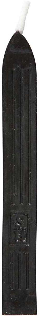 Zegel was, l: 10 cm, zwart, 3 stuks kopen