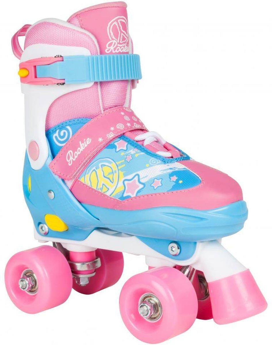 Rookie Skates Verstelbaar Blauw/roze Maat 35,5-39 kopen