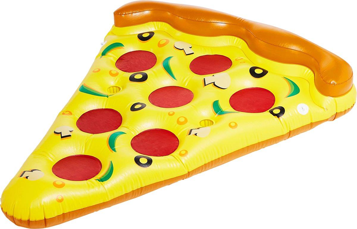 Didak Pool Opblaasbare luchtmatras Mega Pizza Punt 170x120 Cm
