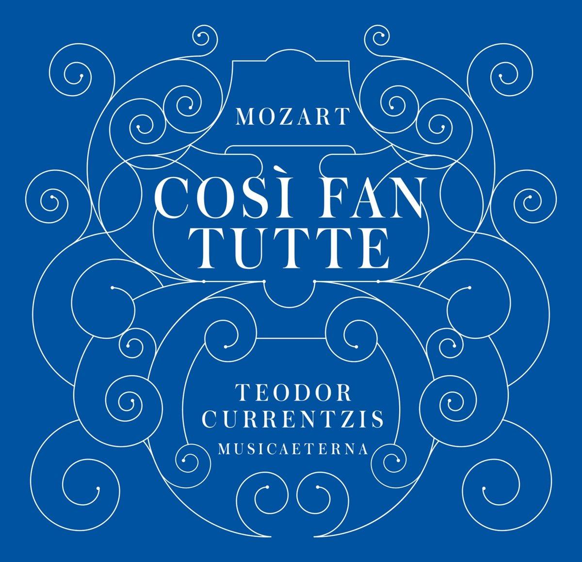 Bol Cosi Fan Tutte Wolfgang Amadeus Mozart CD Album