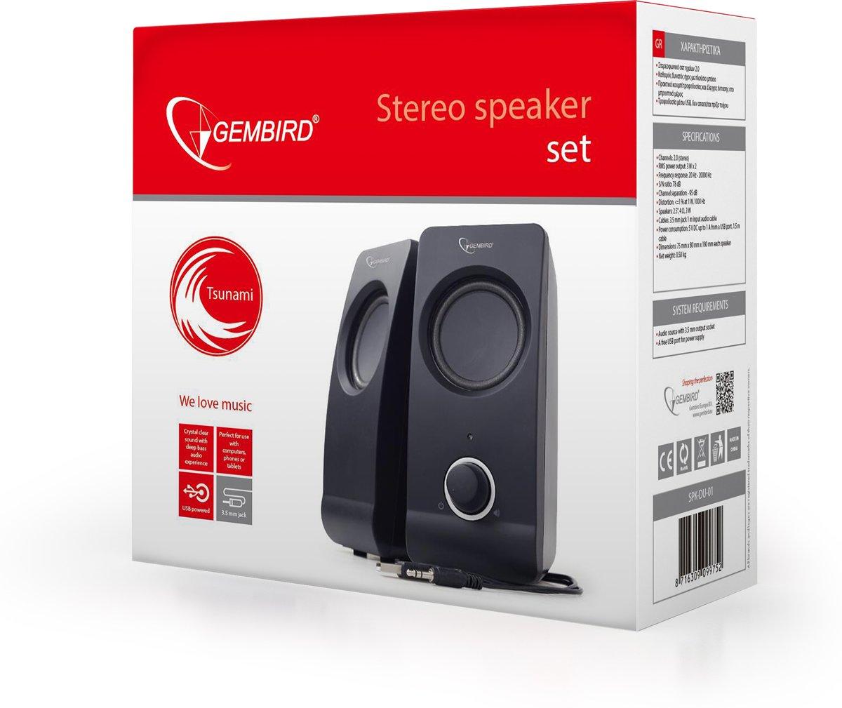 "Stereo SpeakerSet ""Tsunami"" kopen"