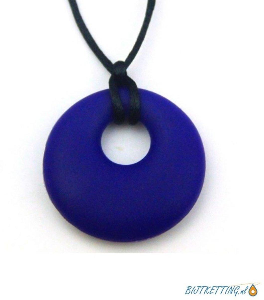 Bijtketting Kauwketting | Cirkel | Blauw kopen