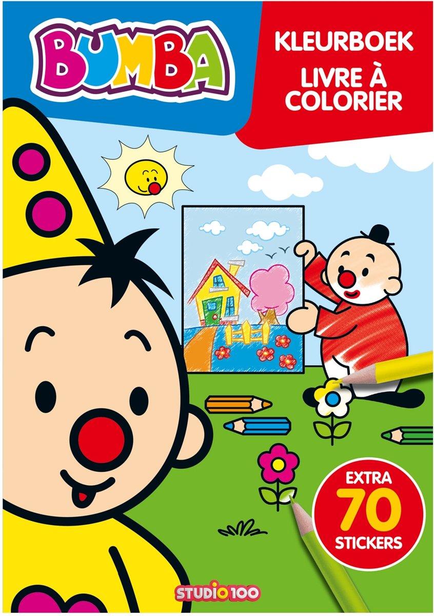 Bumba : kleurboek met stickers kopen