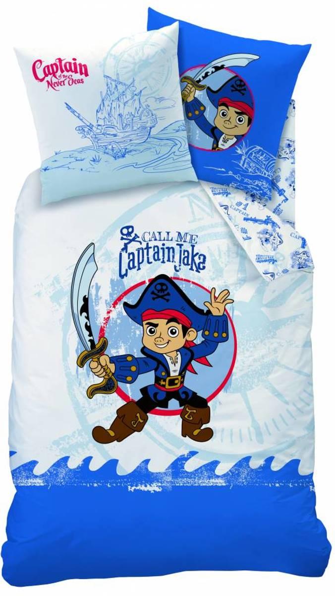 Disney Jake en de Nooitgedachtland piraten Captain - Dekbedovertrek - Eenpersoons - 140 x 200 cm - Multi kopen