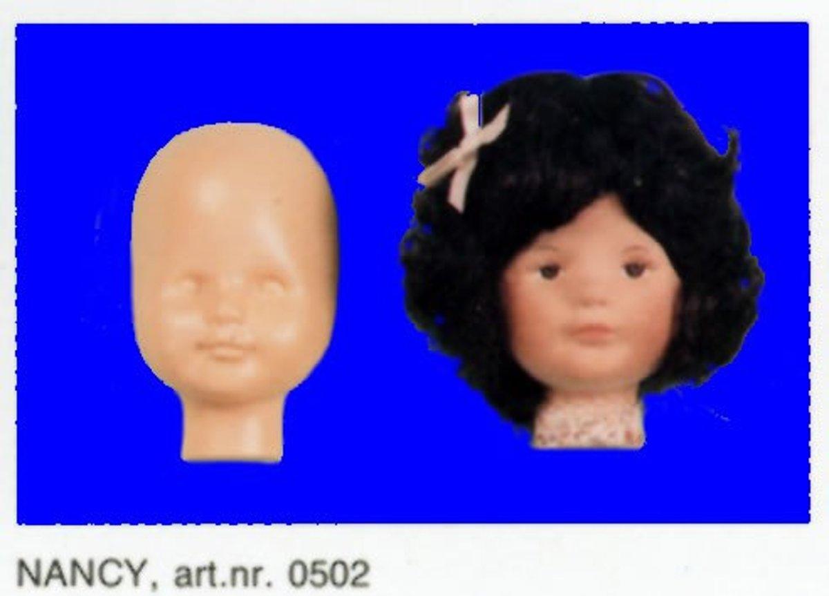 """Sissy Poppen Masker """"Nancy"""" Hoofdomvang 31 cm. 4 STUKS. kopen"""