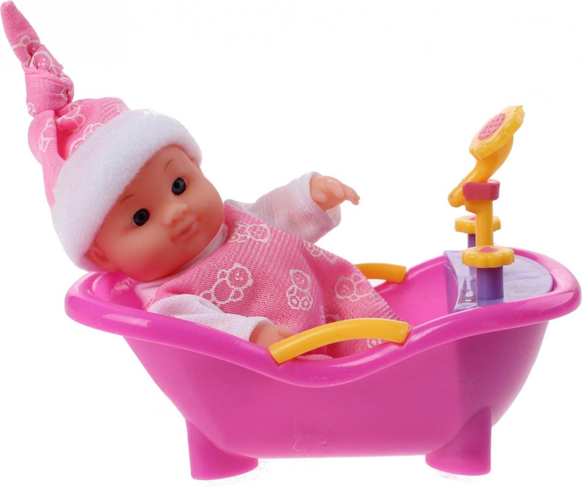 Toi-toys Babypop In Bad Meisjes Roze