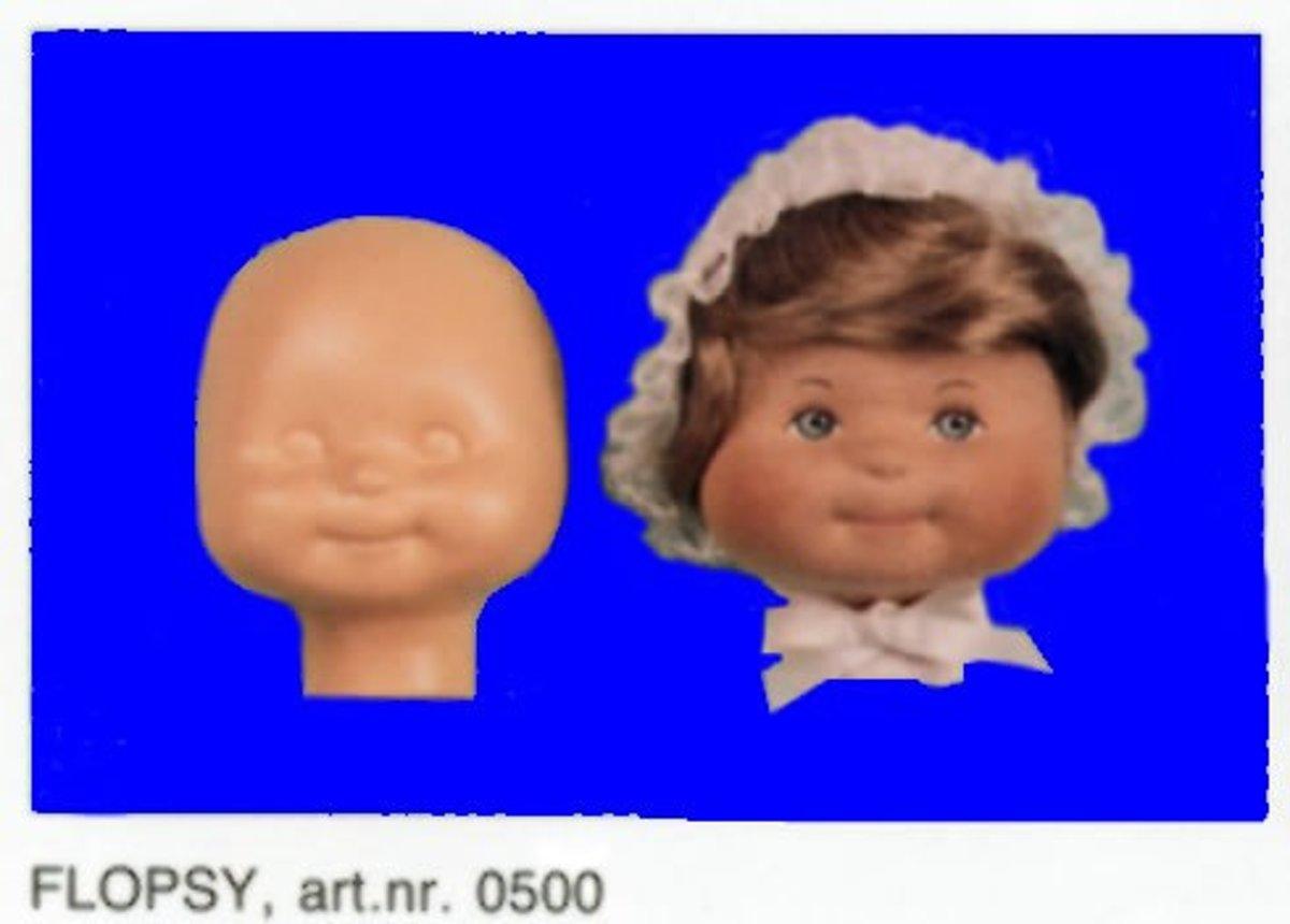 """Sissy Poppen Masker """"Flopsy Baby"""" Hoofdomvang 29cm. 4 STUKS . kopen"""