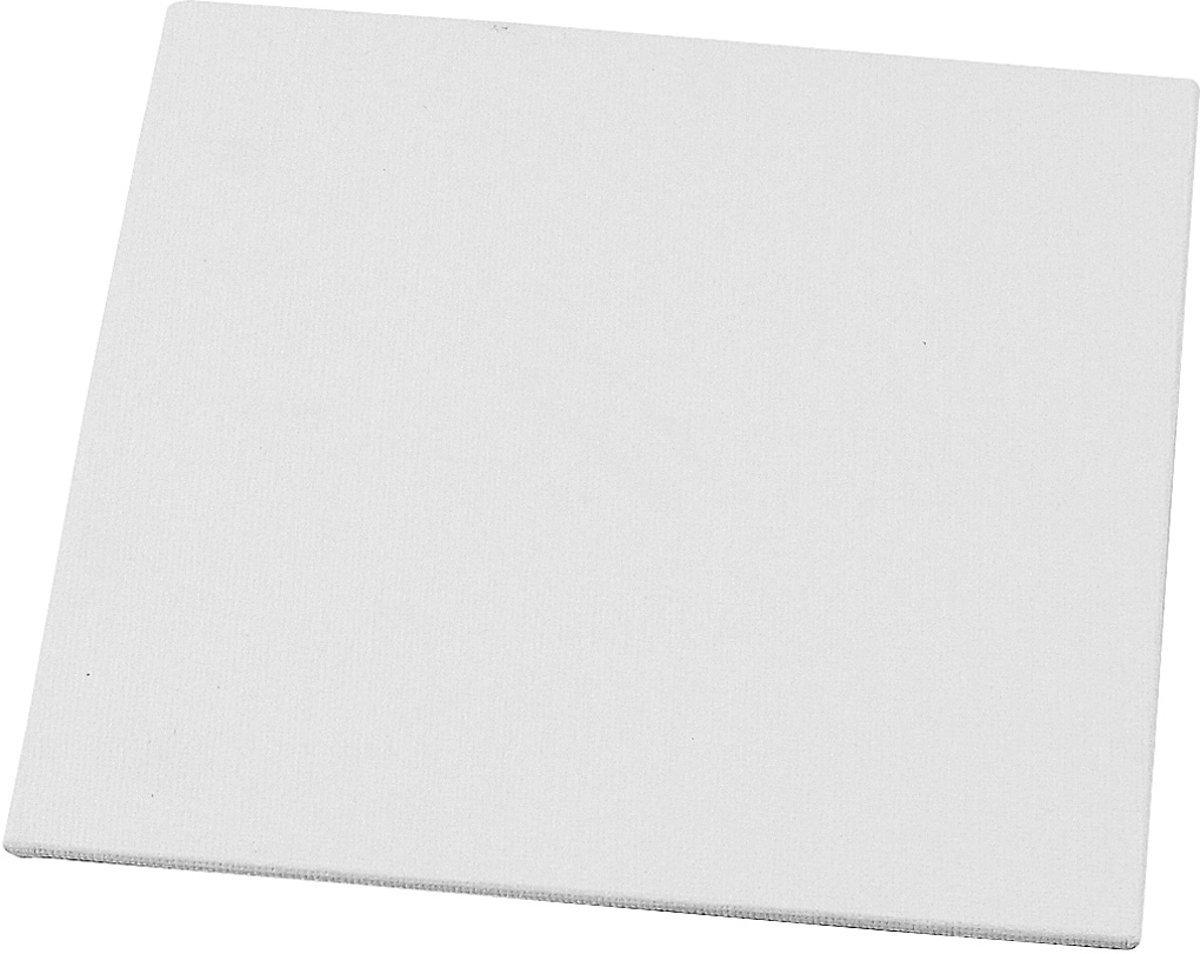 Premium Schilderdoeken canvas paneel 25x25cm - 8 stuks - blanco panelen - platen - board - doeken - Hobby - Vierkant kopen