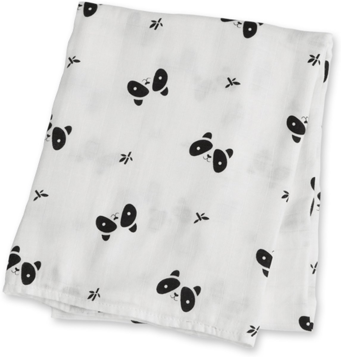 Lulujo swaddle 70% bamboo/30% katoen 120x120 cm - Panda