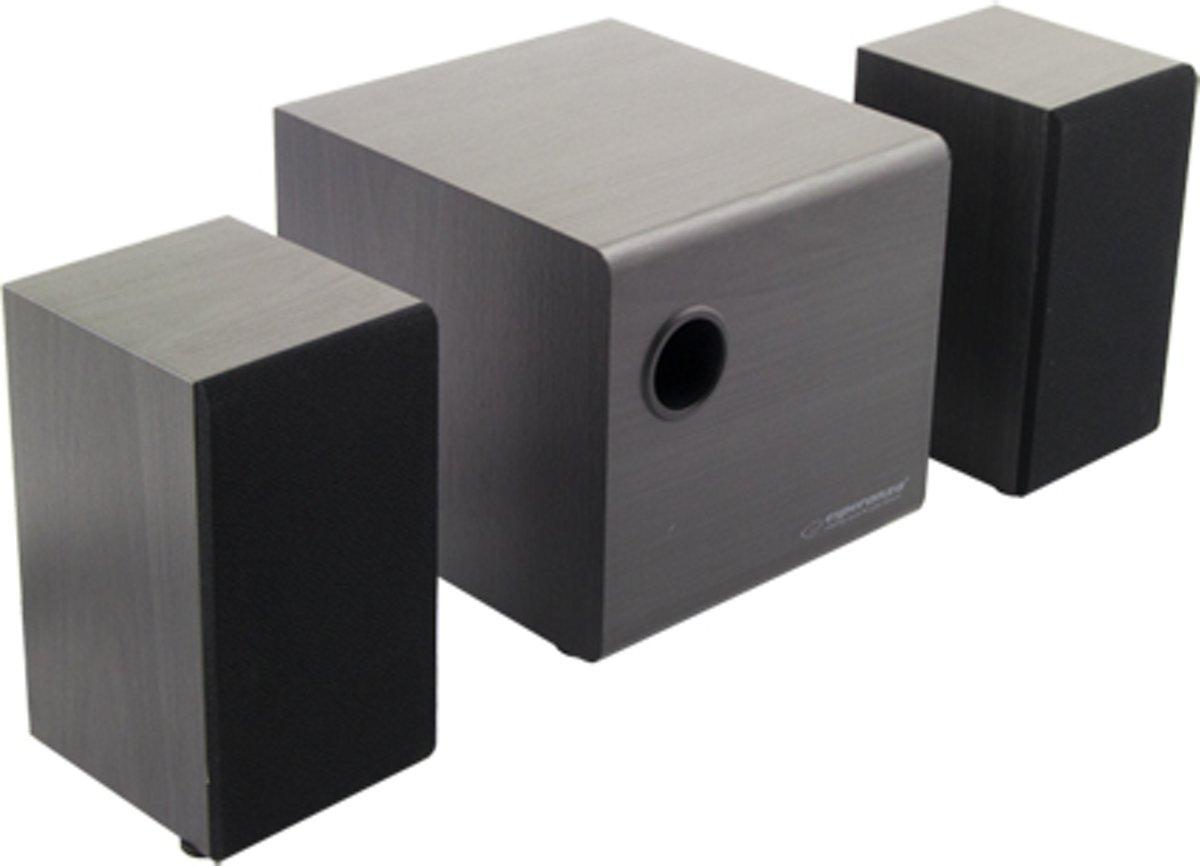 Twist stereo speakers 2.1 USW Wooden kopen