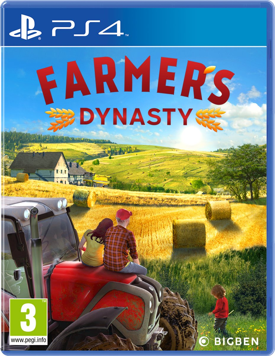Farmer's Dynasty PlayStation 4