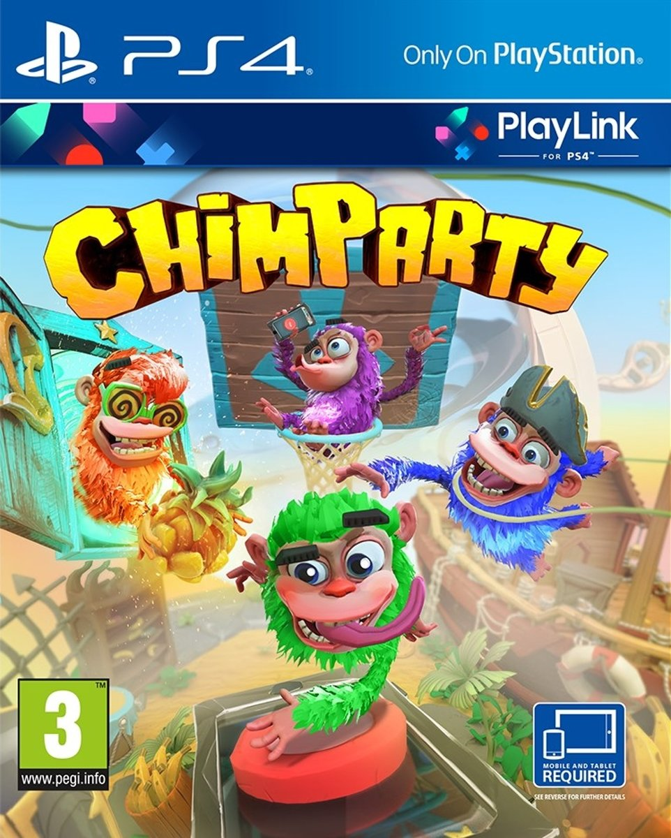 Chimparty PlayStation 4