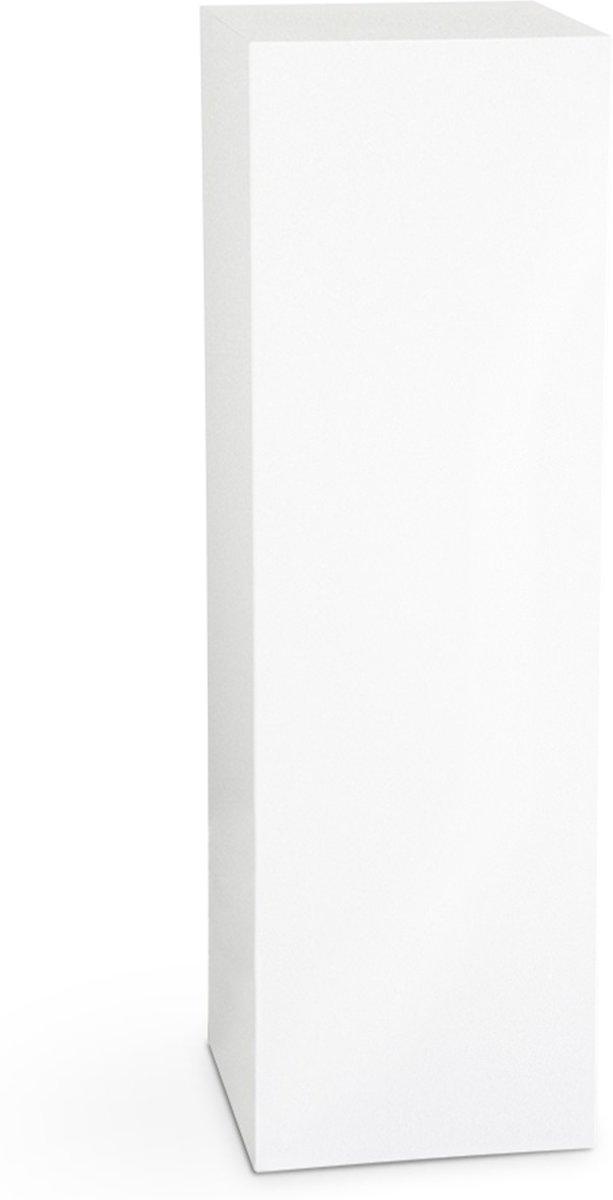 Deco zuil 100cm hoog, wit 30*30, Deco Bloom Column kopen