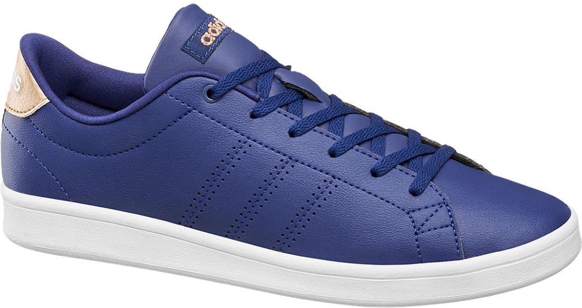 bol.com | adidas Dames Blauwe Advantage Clean QT - Maat 40 2/3