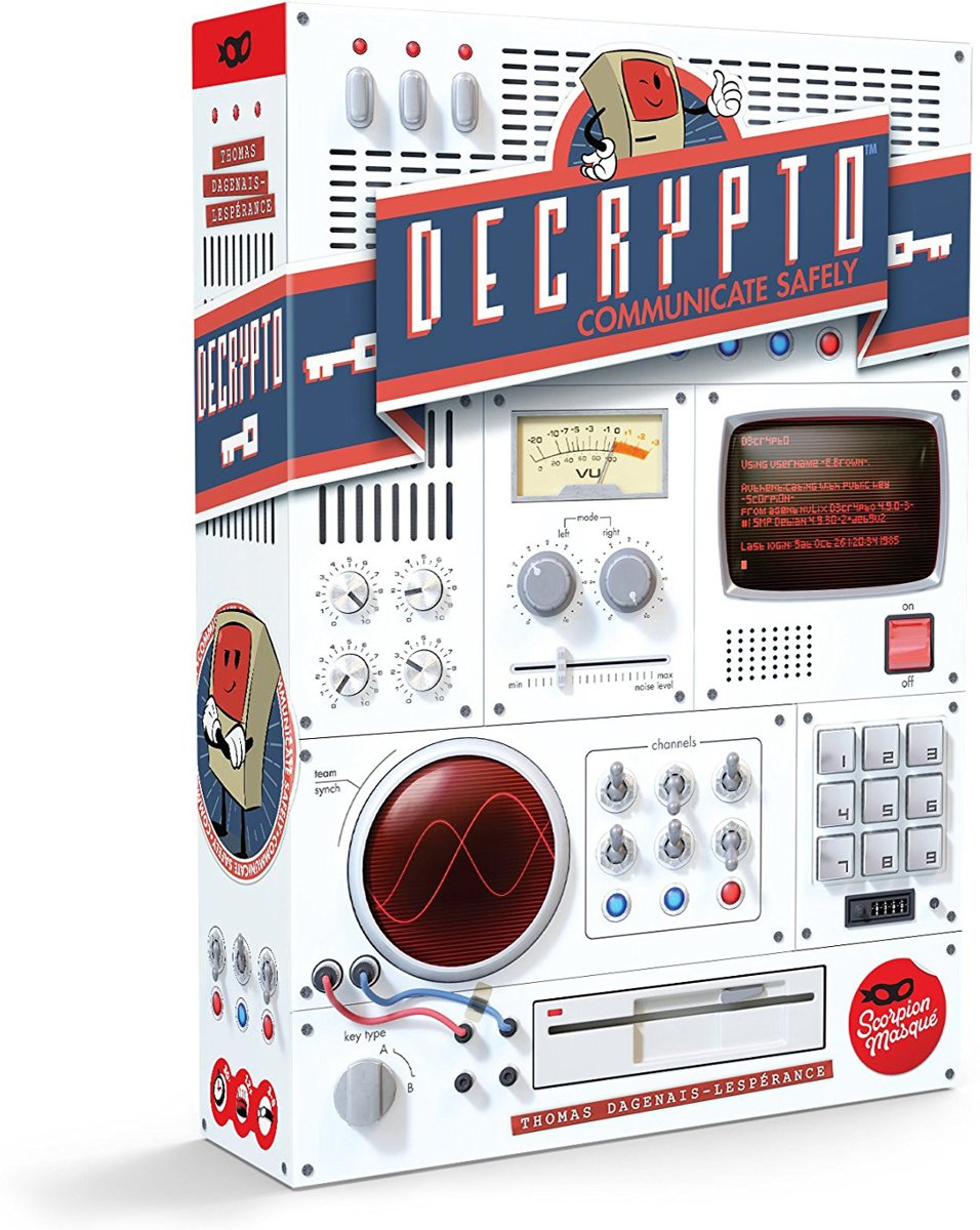 Decrypto - Engelstalig Bordspel
