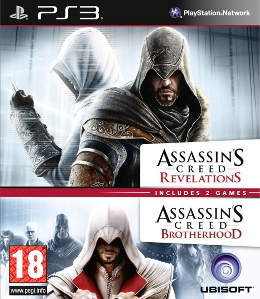 Assassin's Creed Brotherhood / Revelations Double Pack kopen