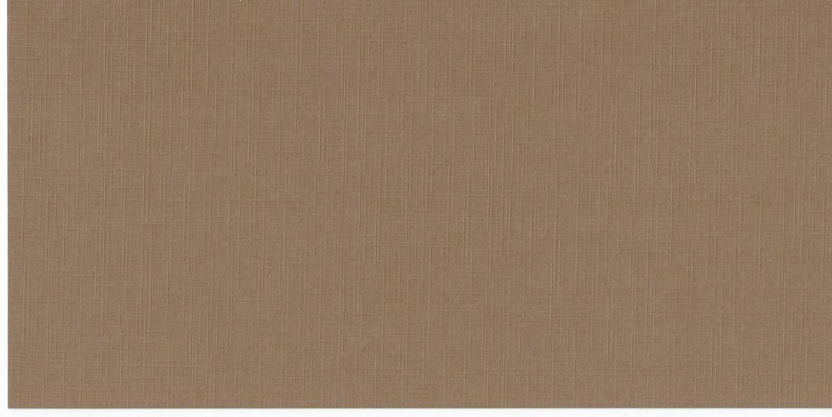Luxe Linnen kaartenpapier - Vierkant Linnenkarton - Lichtbruin - 40 vellen - 27x13,5 cm - 220 grms - voor 13,5x13,5 vierkante kaarten - Past in 14x14 envelop kopen