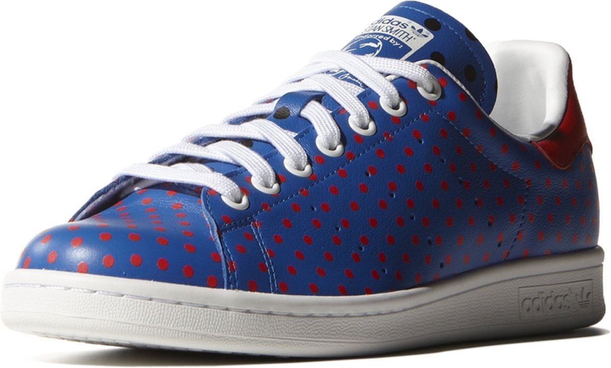 5331a919830 bol.com | adidas Originals Stan Smith Polka Dot - Sneakers - Mannen - Maat  48.5 - Blauw;Rood