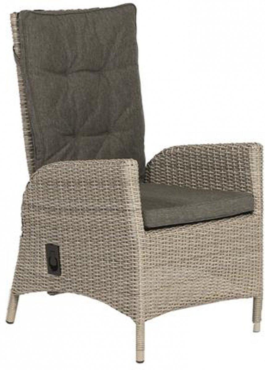 toledo dining chair adjustable weathered grey +kussen kopen