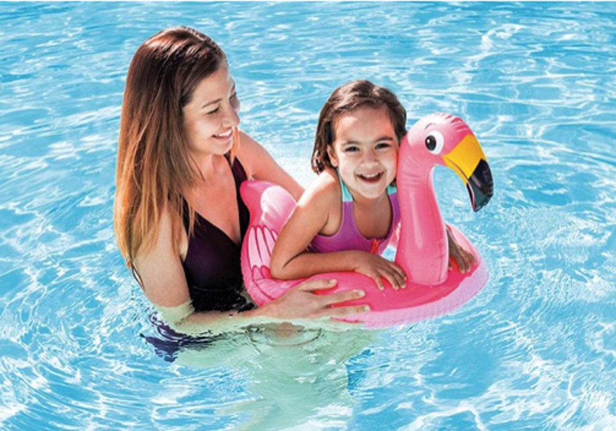 Intex zwemband Flamingo - 76 x 55 centimeter