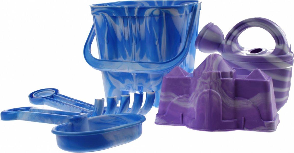 Yello Strandset 5-delig blauw 15 cm kopen