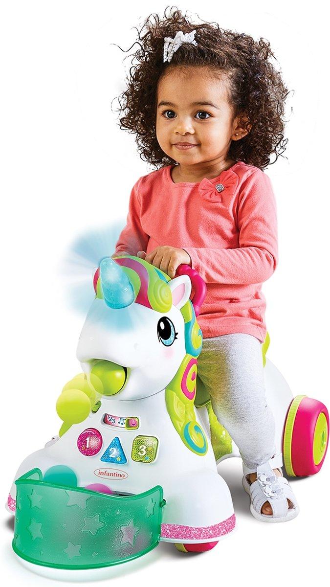 Sensory 3 in 1 Ride on Unicorn Eenhoorn