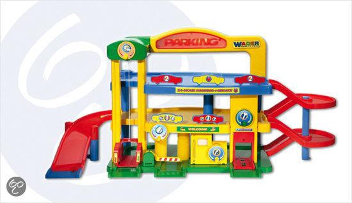 Speelgoed Garage Wader : Bol wader premium garage nummer wader quality toys