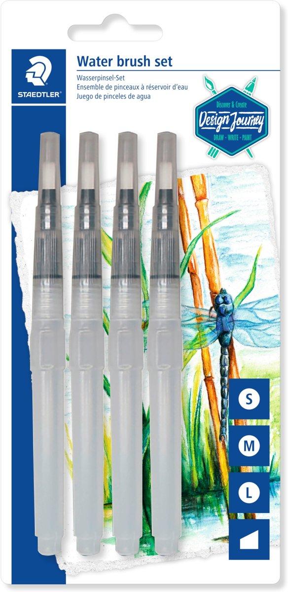 water fillable brush - blister 4 st divers kopen