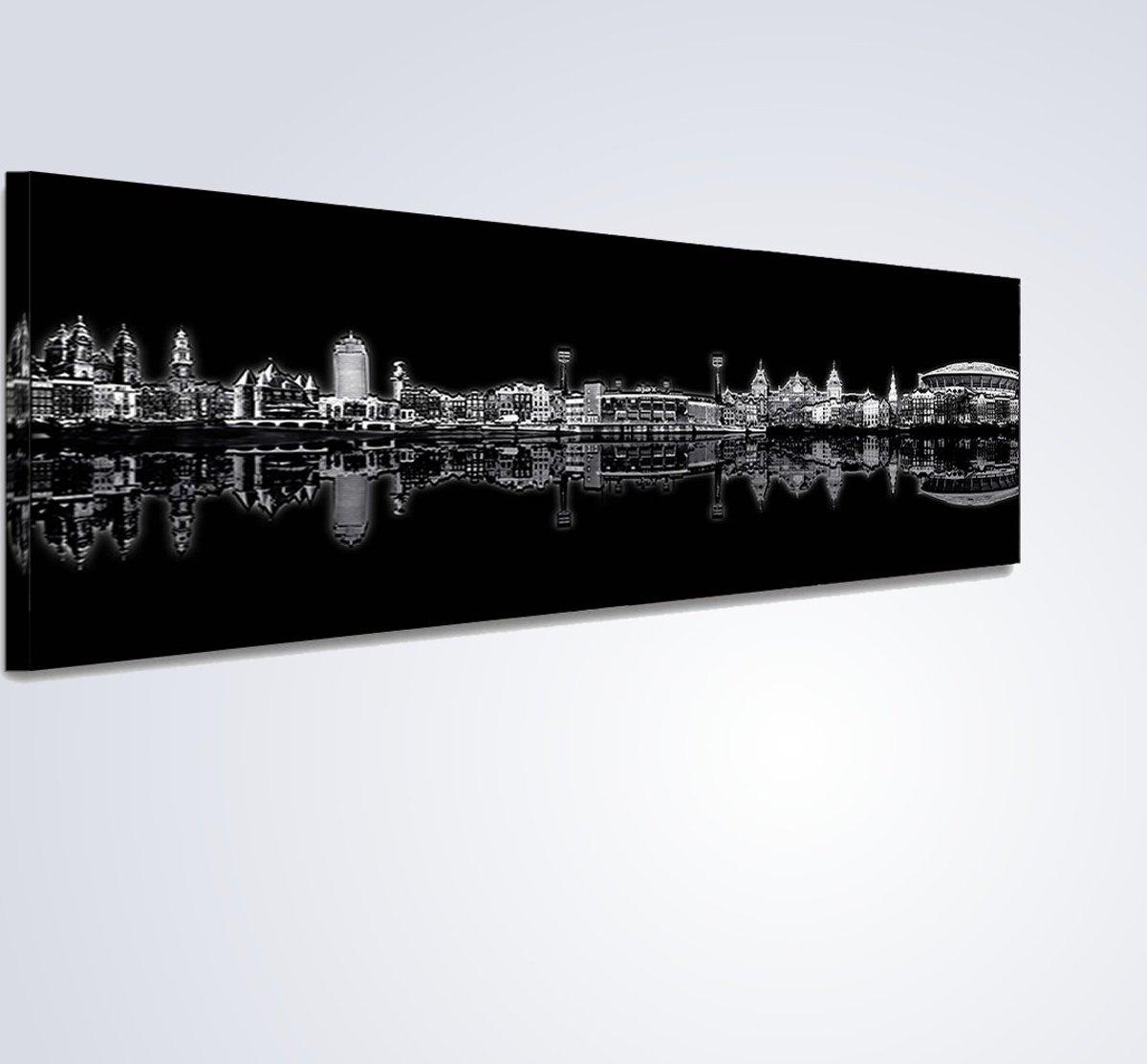 Canvas Amsterdam Skyline kopen