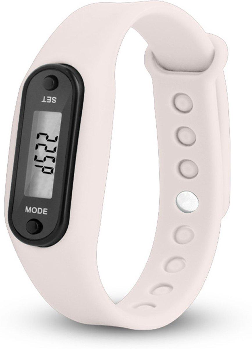 Digitale LCD Stappenteller - wit - calorie - loopafstand - steps - teller - stappenteller kopen