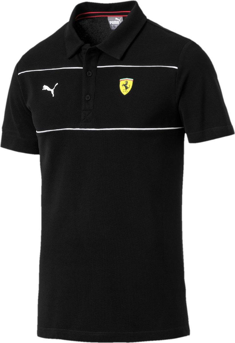 PUMA Scuderia Ferrari Polo Shirt Heren - Puma Black