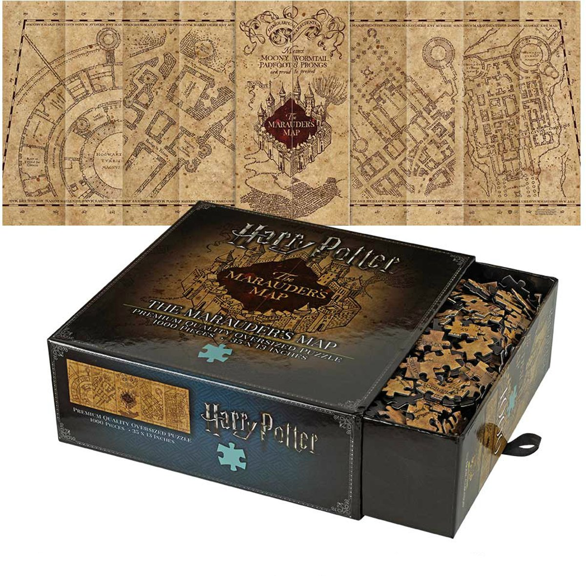 Harry Potter: The Marauder's Map Cover Puzzle kopen