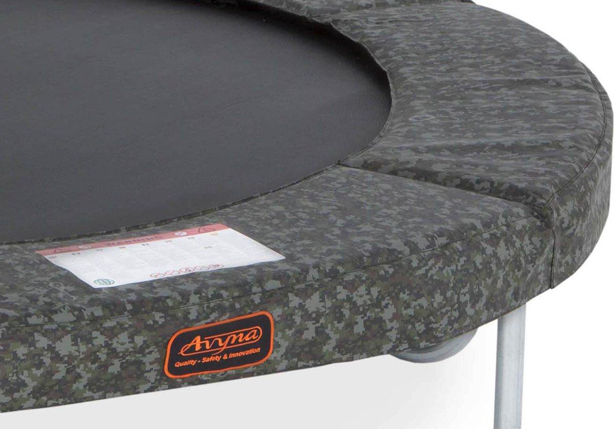 Beschermrand tbv trampoline Avyna PRO-LINE 3,05 (10 ft) Camouflage