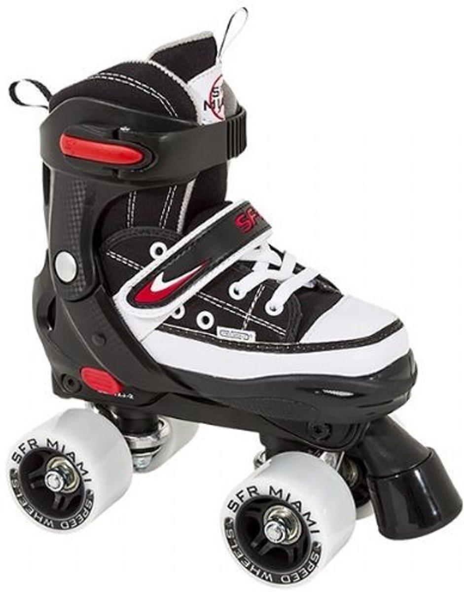 Sfr Quad Miami Rolschaatsen Zwart Maat 35.5-39.5 kopen