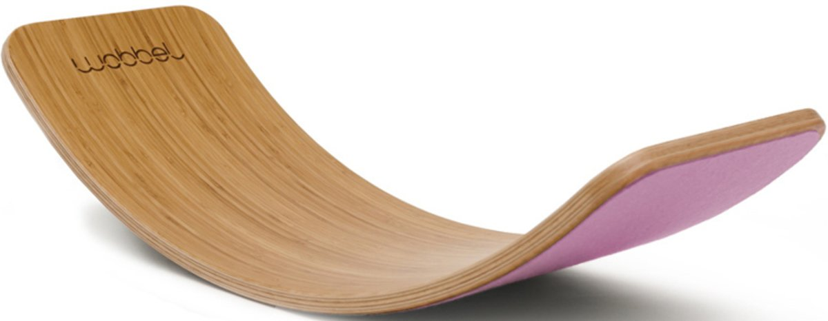 Wobbel Original Bamboe met Vilt - Poeder kopen