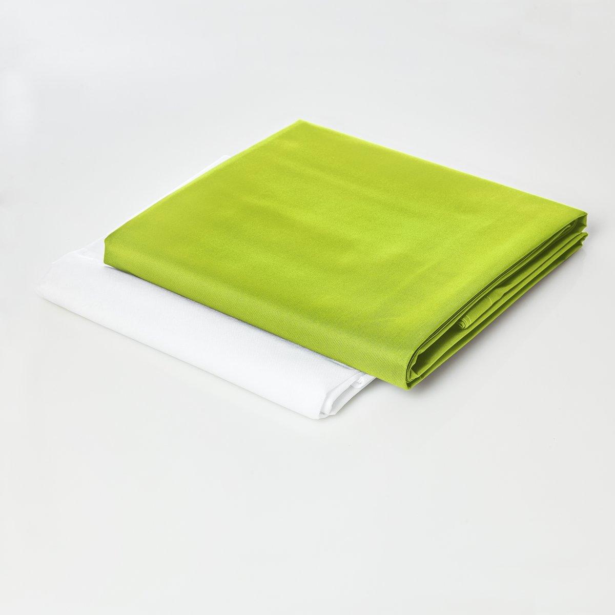 Lumaland - Hoes van luxe XXL zitzak - enkel de hoes zonder vulling - Volume 380 liter - 140 x 180 cm - gemaakt van PVC / Polyester - Appelgroen kopen