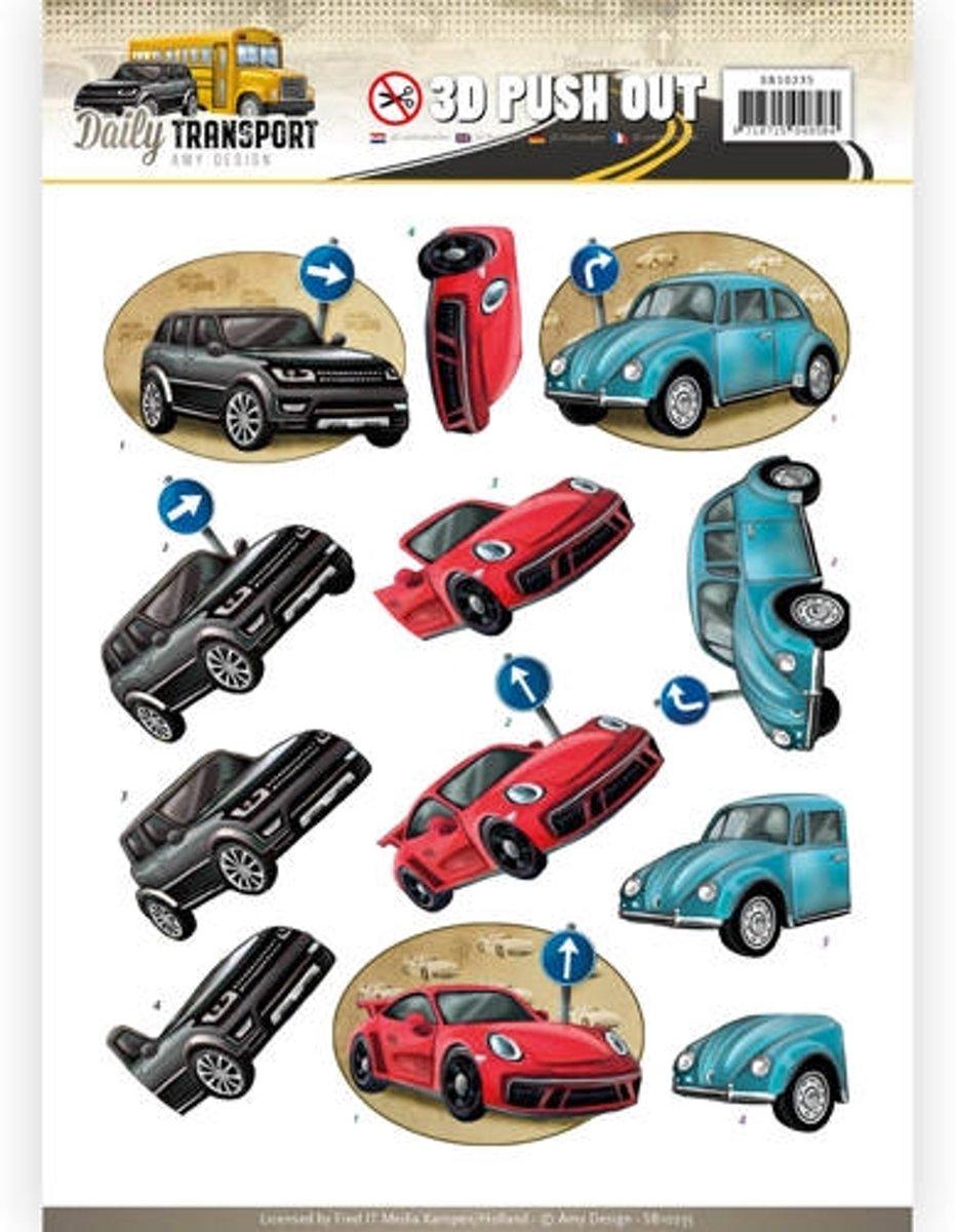 Uitdrukvel  - Amy Design - Daily Transport - Dagelijkse Auto's kopen