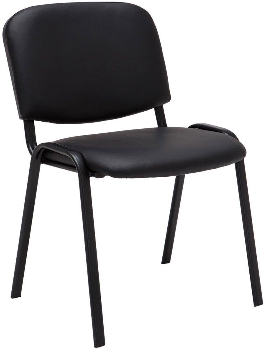 Clp Bezoekersstoel, wactkamerstoel, conferentiestoel KEN  - stapelbare stoel - zwart kopen
