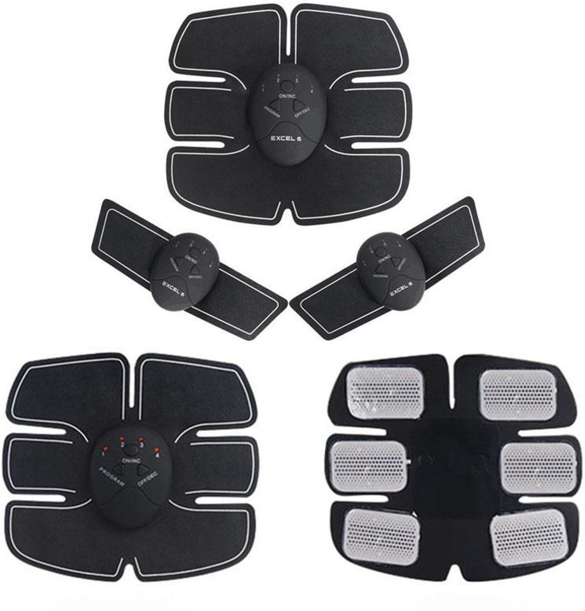 Elektrische 3 Delige EMS Sixpack & Spierstimulator Six Pack kopen