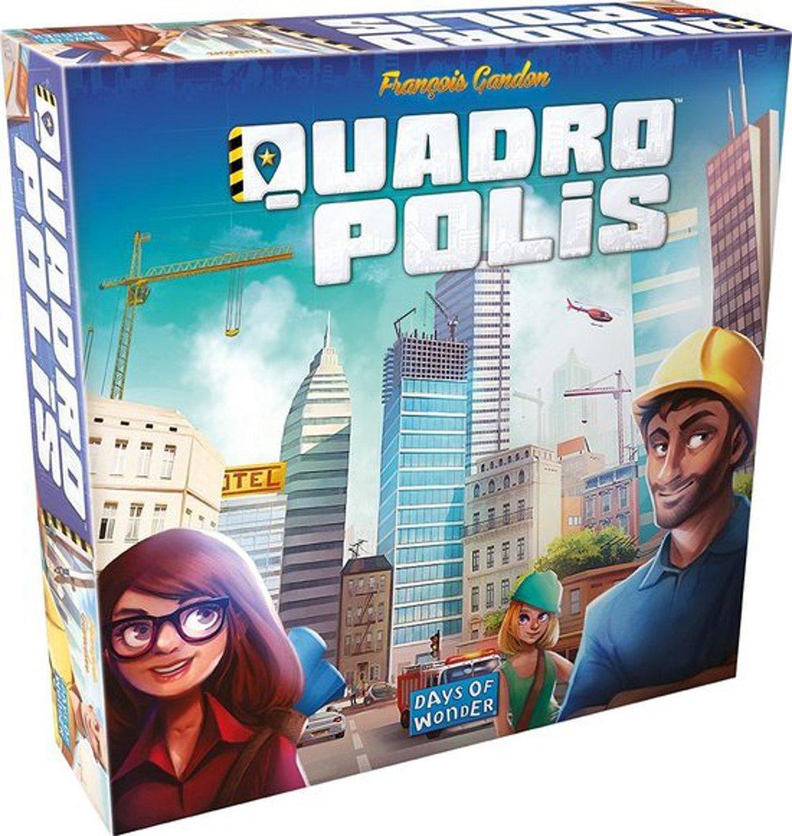 Quadropolis Bordspel