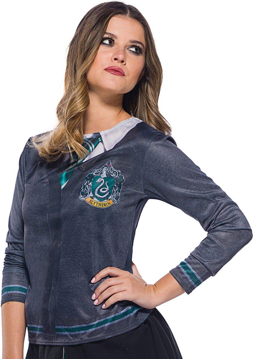 Harry Potter™ Zwadderich t-shirt voor volwassenen - Verkleedkleding kopen