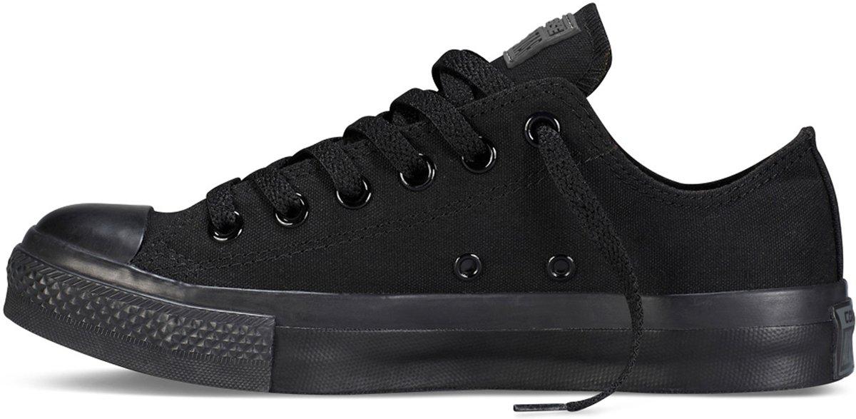 500d203491f bol.com | Converse Chuck Taylor All Star Sneakers Laag Unisex - Black  Monochrome - Maat 42